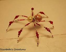 31 best spider images on pinterest beaded spiders christmas