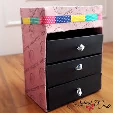 diy makeup storage box tutorial using old boxes