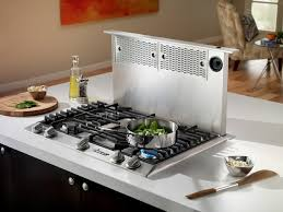 Gas Cooktop With Downdraft Vent Pro Tips All About Downdraft Range Vents Range Hoods Inc Blog