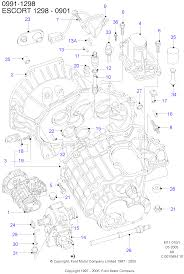manual transaxle and case ford mondeo 1992 1996 fd
