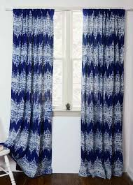 navy blue ikat curtains printed ikat curtains ichcha
