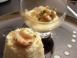 cuisiner noix jacques recette de noix de jacques au curry et sa timbale de riz