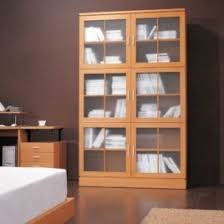 Glass Door Bookshelves by Glass Door Bookshelves Wm Homes Bookcase With Glass Doors In