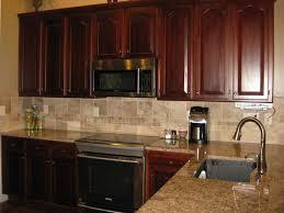 kitchen backsplash ideas kitchen with black countertops and
