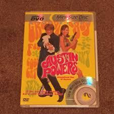 austin powers dvd movie mini disc slim case full screen pg