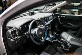 kia sportage 2016 interior 2017 kia sportage shows its new face at the frankfurt motor show