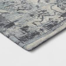 Grey Area Rug Faded Gray Area Rug Threshold Target