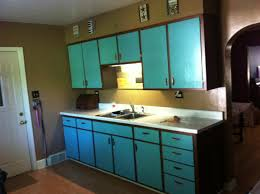 2 Tone Kitchen Cabinets by Two Tone Kitchen Cabinets Copper Hardware Aqua Bay 58c Paint