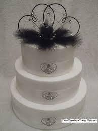 damonte double heart flat cake topper wedding engagement ebay