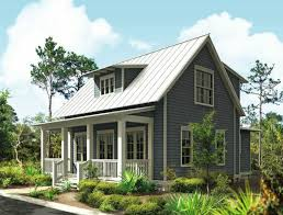 1 plan 24114bg vacation cottage with drive under garage narrow lot