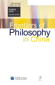 frontiers of philosophy in china brill online