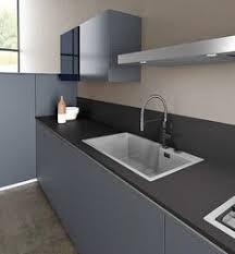 cuisines armony cuisines armony avec gorge modèle zeta laqué bleu nouveauté 2015