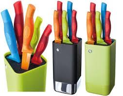 kitchen delights stellar colourtone 5 piece knife block set review