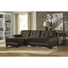 Benchcraft Furniture Ashley Furniture Vanleer Sectional In Chocolate Local Furniture