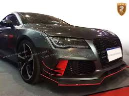 audi a7 kit newest carbon fiber wide kit for audi a7 buy for audi a7 a7