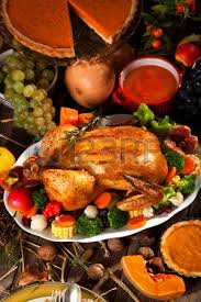 thanksgiving turkey dinner stock photo picture and royalty free