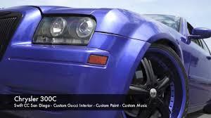 chrysler 300c swift car club san diego custom gucci interior
