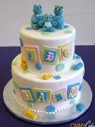 teddy bear baby shower cake cmny cakes
