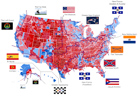 Political Map Washington State by The Donald Trump Phenomenon Part 1 The American Nations
