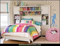 soccer themed bedroom for girls girls sports themed bedroom