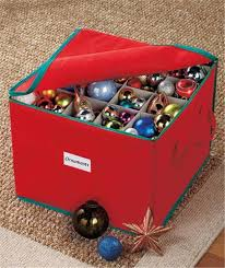 christmas ornaments storage christmas ornament storage chest in