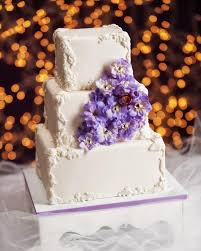 Square Wedding Cakes Pictures Of Square Wedding Cakes Lovetoknow