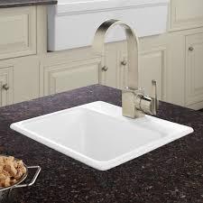 cast iron drop in sink 15 rienzo cast iron drop in prep sink kitchen