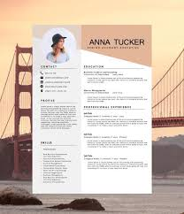 resume templates modern modern resume template cv template by hedgehogboulevard on etsy