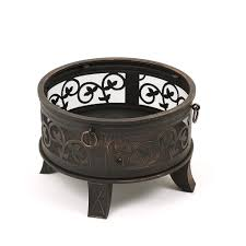 fire pit poker fire pit with cut out surround 66cm diameter 26