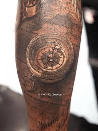 tattoo compass realistic realistic compass 3d tattoo by v tattoos