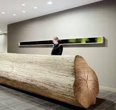 Unique Reception Desks Unique Reception Desks Made Of Tree Trunks Nytexas