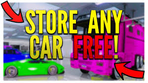 gta 5 how to store any car in your garage free gta 5 online gta 5 how to store any car in your garage free gta 5 online 1 36 1 20 glitches youtube