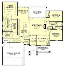 Duplex Floor Plan by Clairmont House Plan U2013 House Plan Zone