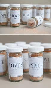 easy wedding favors diy spice favor jar something turquoise