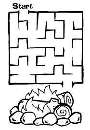 coloring graceful maze game printable baby shower coloring