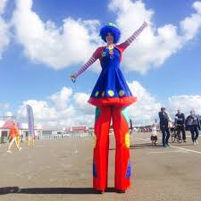 clown stilts hire stilt walkers london brilliant birthdays