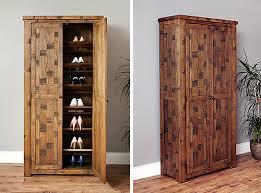 rough sawn oak shoe cupboard heyford