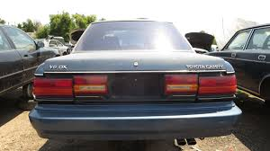 junkyard find 1991 toyota camry dx with v6 engine and five speed