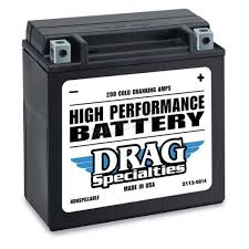 drag specialties 12 volt battery 2113 0014 harley motorcycle
