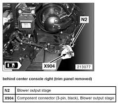 instruction manual on replacing in cabin a c blower motor resistor