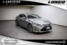 lexus is f sport coupe pre owned 2015 lexus rc 350 2dr coupe rwd f sport coupe in san