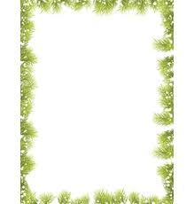 fir tree border royalty free vector image