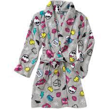 girls u0027 monster high robe walmart com
