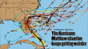 Usa East Coast Map The Hurricane Matthew Situation Keeps Getting Weirder U0026 More
