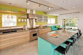 Green Kitchens by Kitchen Cabinet Proactivity Turquoise Kitchen Cabinets