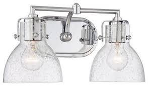 Glass Vanity Light Minka Lavery 5722 77 Seeded Bath Art 2 Light 15 5
