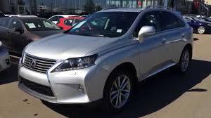 youtube lexus rx 2015 2015 lexus rx 350 awd silver on black touring package review