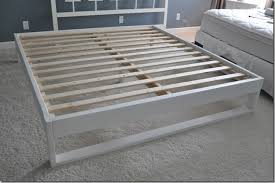 Simple Bed Frame West Elm Simple Bedframe Tutorial Decor And The