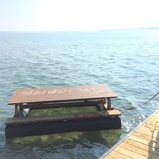 floating picnic table for sale floating docks dorset timber mart your source for lumber in muskoka