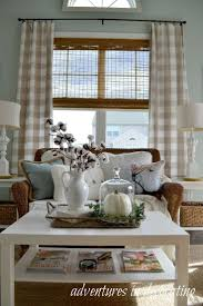 Sunflower Yellow Curtains by Best 25 Check Curtains Ideas On Pinterest Plaid Living Room